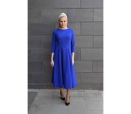 Suknelė VIKTORIJA rugiagėlių mėlyna