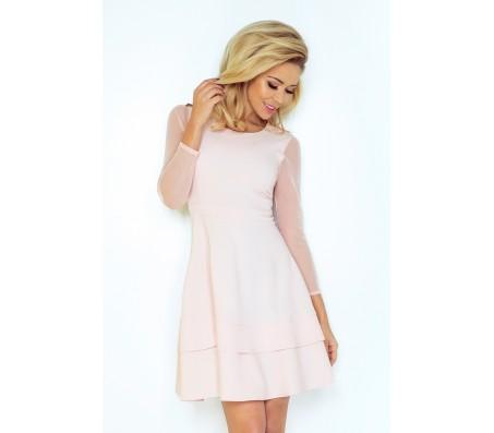 Suknelė ALINA pastelinė rausva
