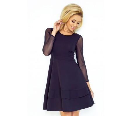 Suknelė ALINA tamsiai mėlyna