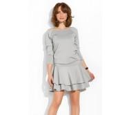 Suknelė LEXI pilka