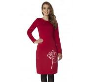 Suknelė DINARA raudona