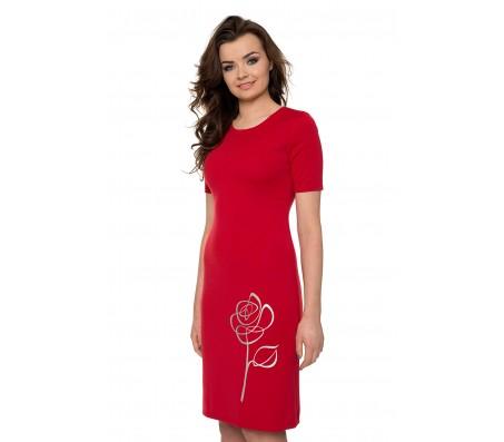 Suknelė DAGNĖ raudona