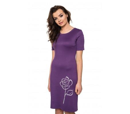 Suknelė DAGNĖ violetinė