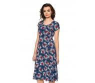 Suknelė ORINTA tamsiai mėlyna