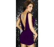 Suknelė PEARL violetinė
