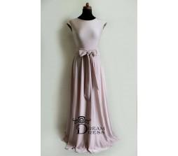 Ilga suknelė ADORIA kreminė