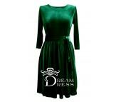 Proginė suknelė AMANDA smaragdinė