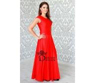 Ilga suknelė ADORIA raudona