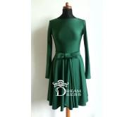 Proginė suknelė ADORIA smaragdinė