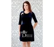 Proginė suknelė AMANDA tamsiai mėlyna
