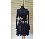 Suknelė HERMIONA tamsiai mėlyna